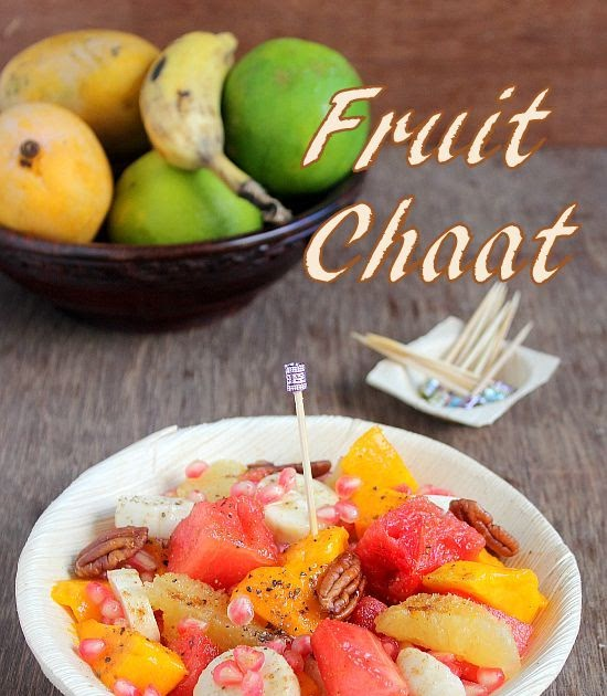 THE CHEF And HER KITCHEN: Fruit Chaat