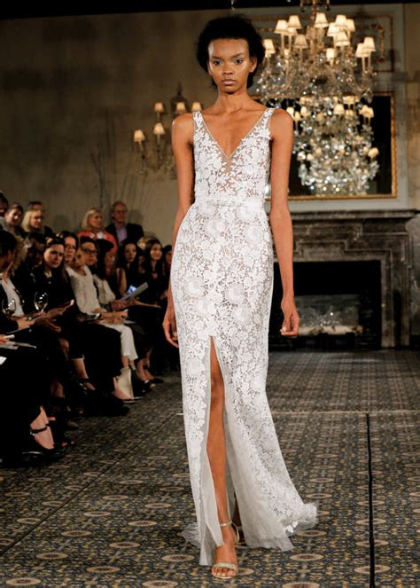 mira zwillinger alluring sleeveless sheath wedding gown