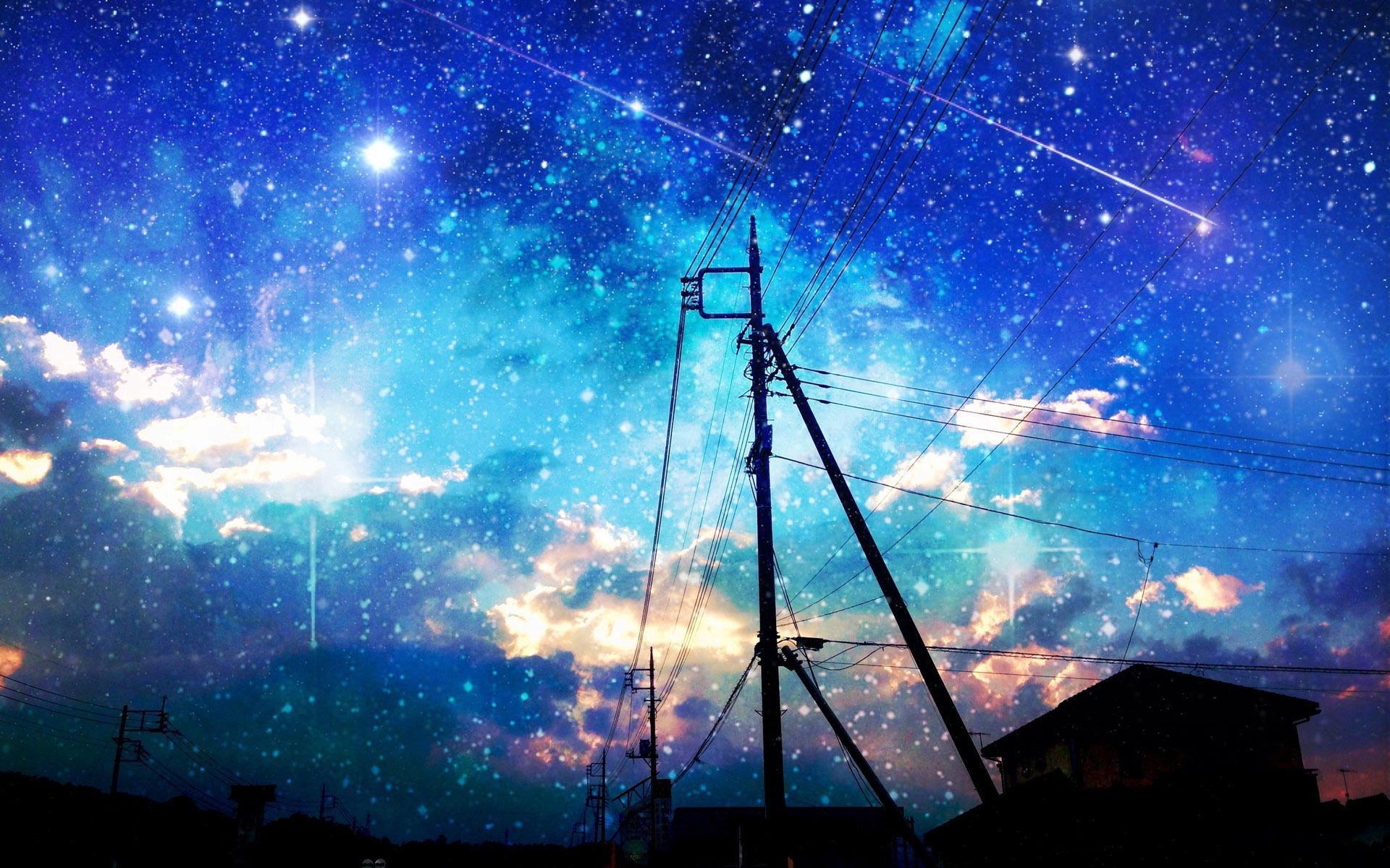 Anime Night Sky
