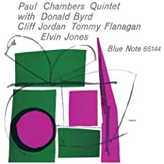 Paul Chambers Quintet cover