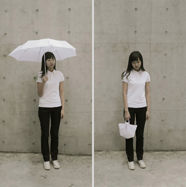 The Inside Out Umbrella