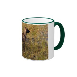 Hunting Plott Hound Dog in Marsh Coffee Mug Mug