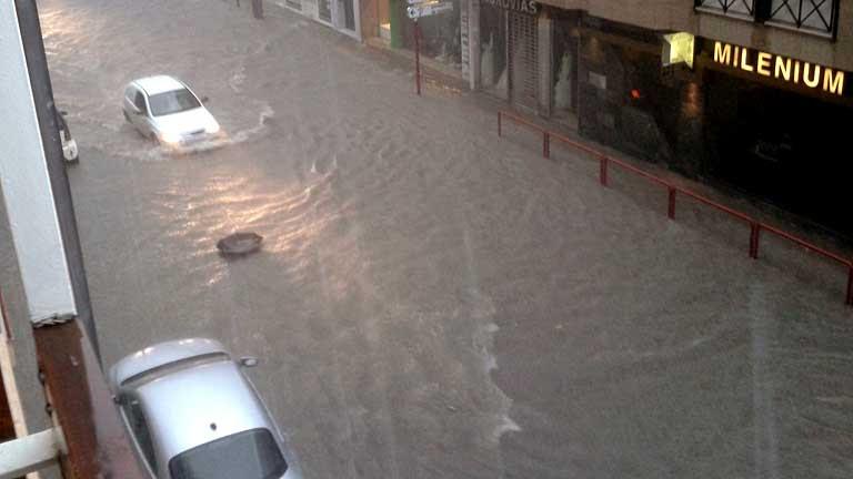 Al menos tres muertos por las lluvias en el sureste español