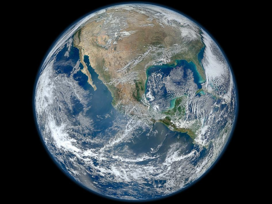 Blue Marble - High-Res Image of the Earth
