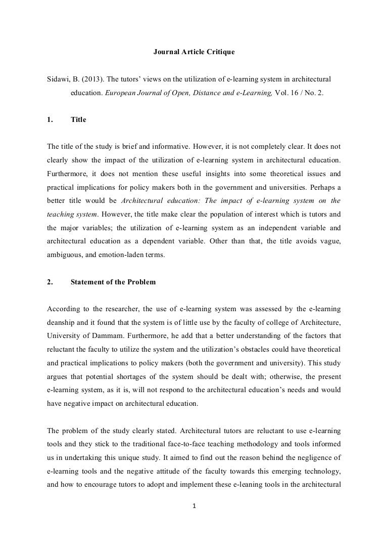 how to write an online article title in an essay