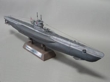 German Uboat Papercraft