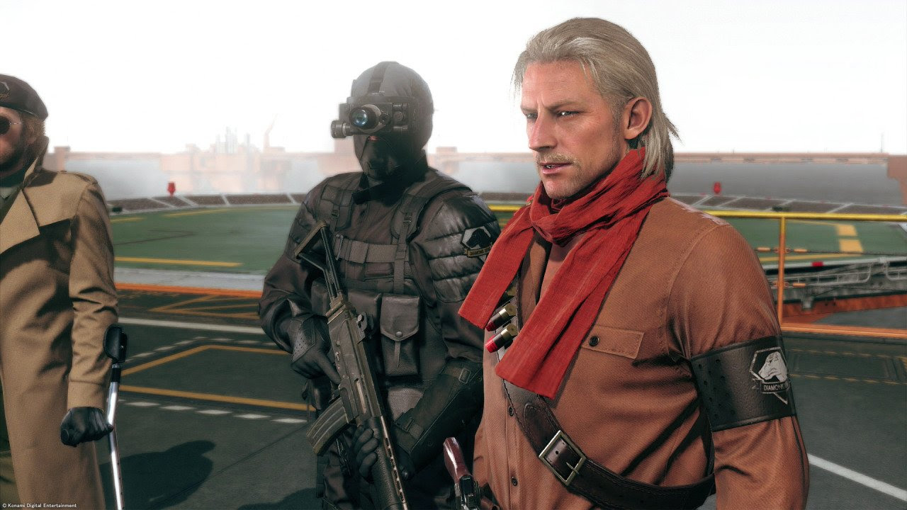 Ocelot finally joins Metal Gear Solid V FOB missions in August update screenshot