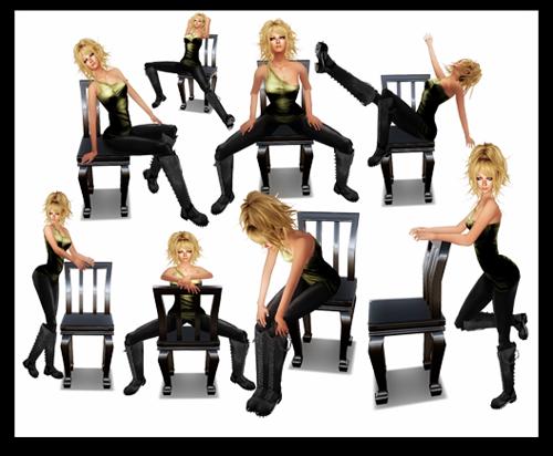Mannequin. Burlesque