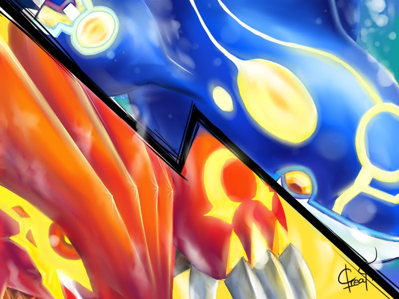 Pokemon Omega Ruby and Alpha Sapphire by Gavin56 on