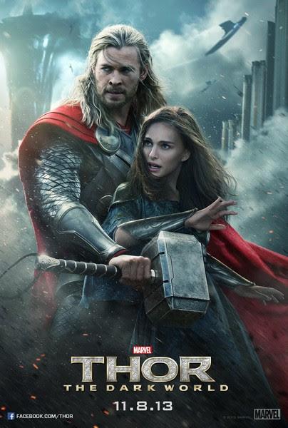 Thor The Dark World poster 006 أكثر 20 فيلم تعرّضاً للقرصنة في 2014