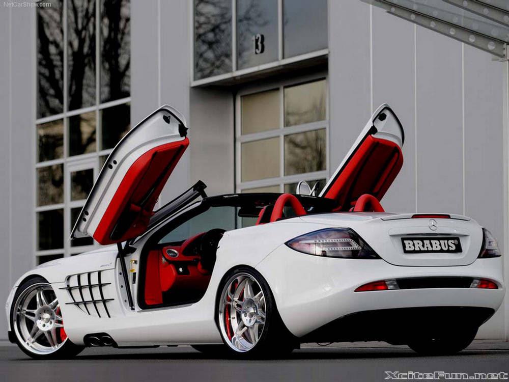 Sportiest Drop-Top Mercedes Benz SLR Roadster - Wallpapers ...