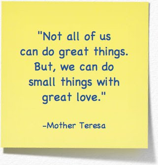 Words Of Wisdom Mother Teresa On Love O Mama