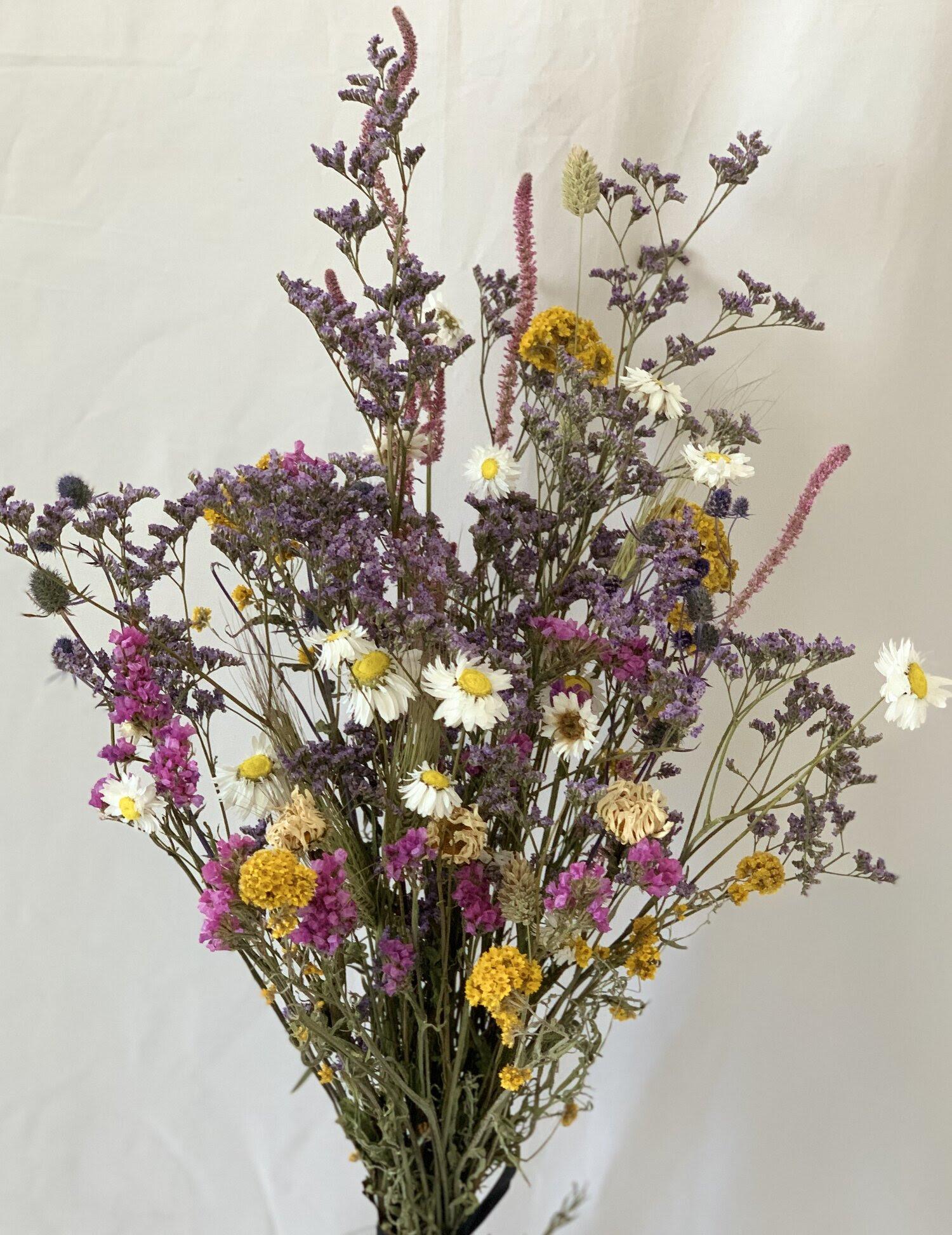 Louise Dried Flower Bouquet Daisy Wrap Sophia Vincent