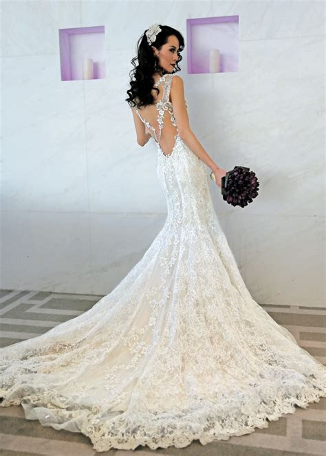 Bridal Wedding Gowns New York, New Jersey   Back Designs