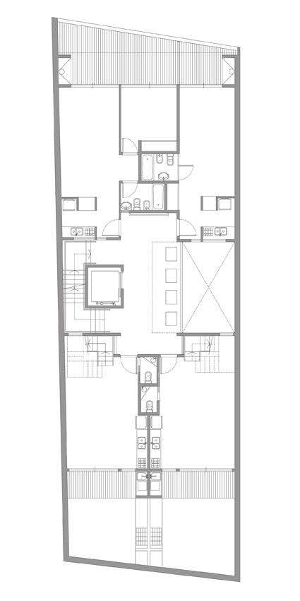 Vivienda Colectiva: PH Uriarte - ARQUITECTONIKA, Arquitectura, diseño, casas