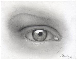 drawing realistic eyes