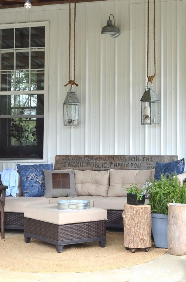 barn porch lighting