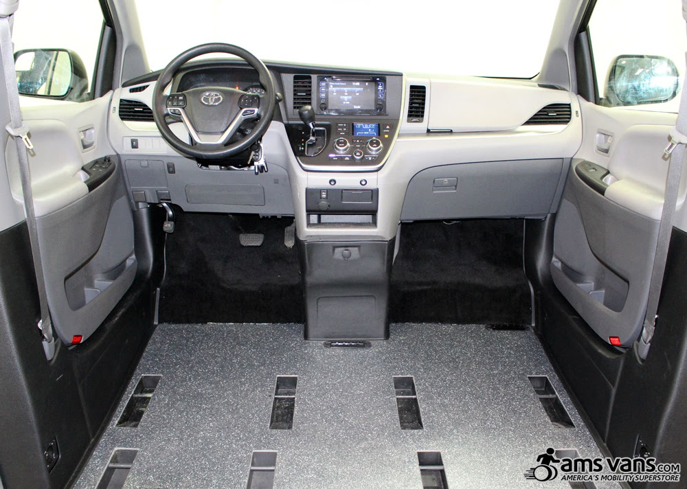 Toyota Sienna Wheelchair Van Conversions Side Entry