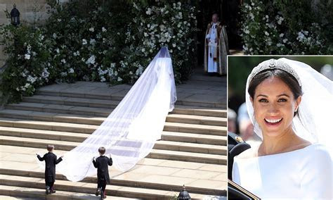 Meghan Markle's wedding dress   photos, designer and all