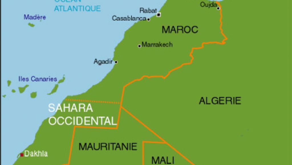 carte algérie maroc sahara_occidental432