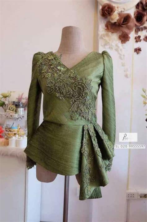 baju atasan pesta womens fashion pinterest kebaya