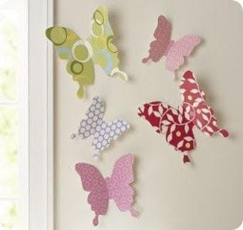 3D Butterfly Wall Décor