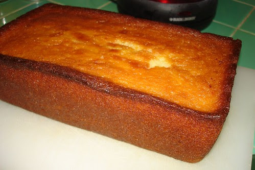 Orange-Soaked Tea Cake