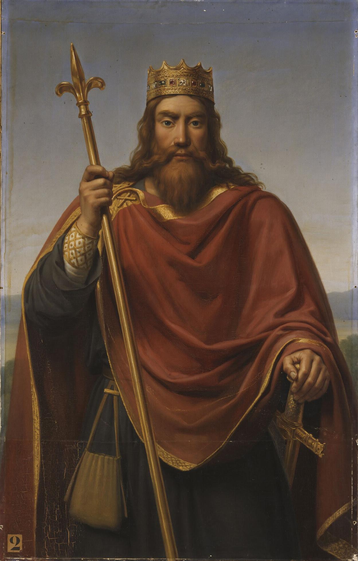 File:François-Louis Dejuinne (1786-1844) - Clovis roi des Francs (465-511).jpg