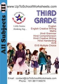 Grade 3 Worksheets Cbse Icse School Uptoschoolworksheets