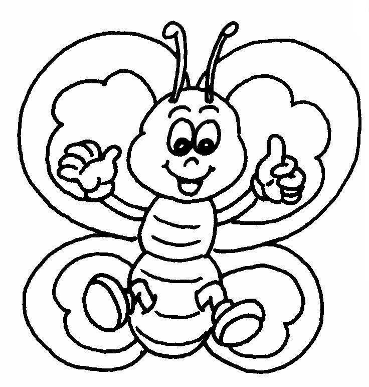Mariposa Colorear Az Dibujos Para Colorear