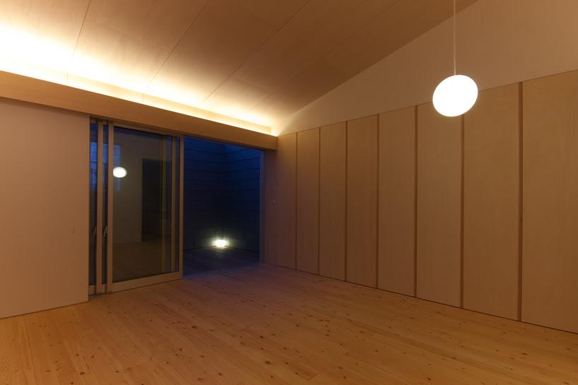 leibal houseingifu nishimura 3 House 01 in Gifu by Tadashi Nishimura Architects