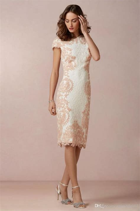 hot sale  high neck lace modest evening gowns sheath