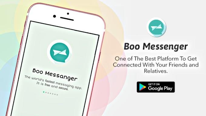 Boo Messenger Apk [V1.0]