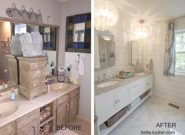 Bathroom Remodeling on a Budget - Bella Tucker Decorative ...