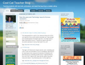 Cool Cat Teacher on blogger