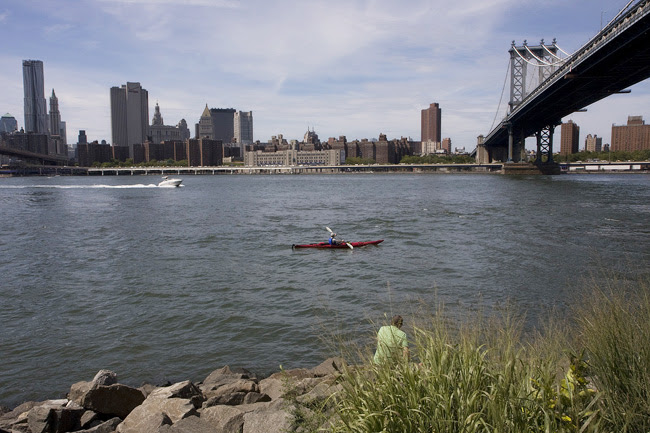Red Skiff, in the East River