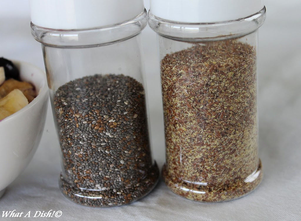 Chia & Flaxseed for Oatmeal