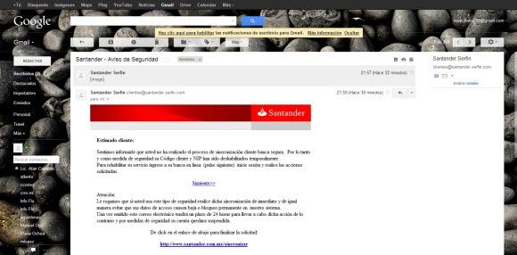 Phishing Bancario Disclosure