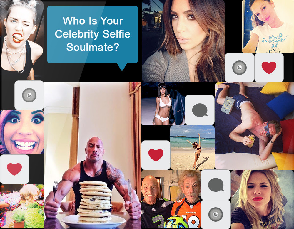 Whos Your Celebrity Selfie Soulmate Quiz Zimbio