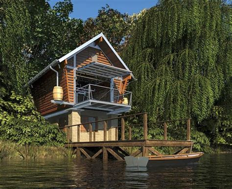 prefab cottage crib  fully recyclable  sustainable