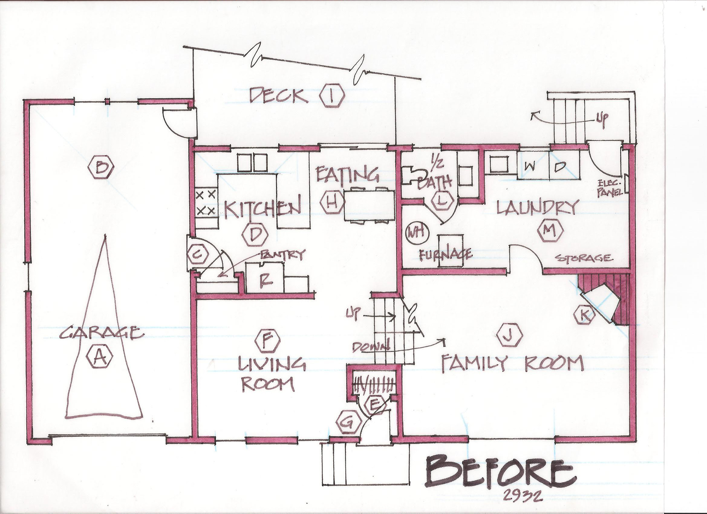 100 bi level house plans with attached garage craftsman