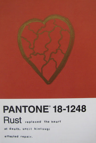 Pantone Postcard Project