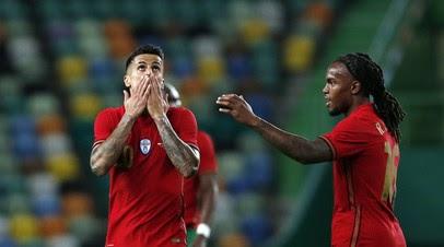 Сборная Португалии по футболу разгромила Израиль в контрольном матче