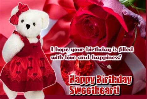 A Cute Teddy For You On Your B?day  Free Birthday for