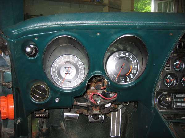 Steering Column And Instrument Cluster Removal The Corvette Restoration Page