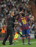 Barca vs Real Madrid Match Pics