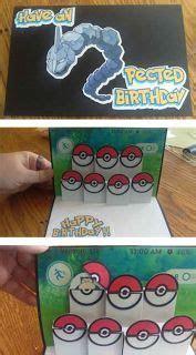 Best 25  Pokemon birthday card ideas on Pinterest   Cheap