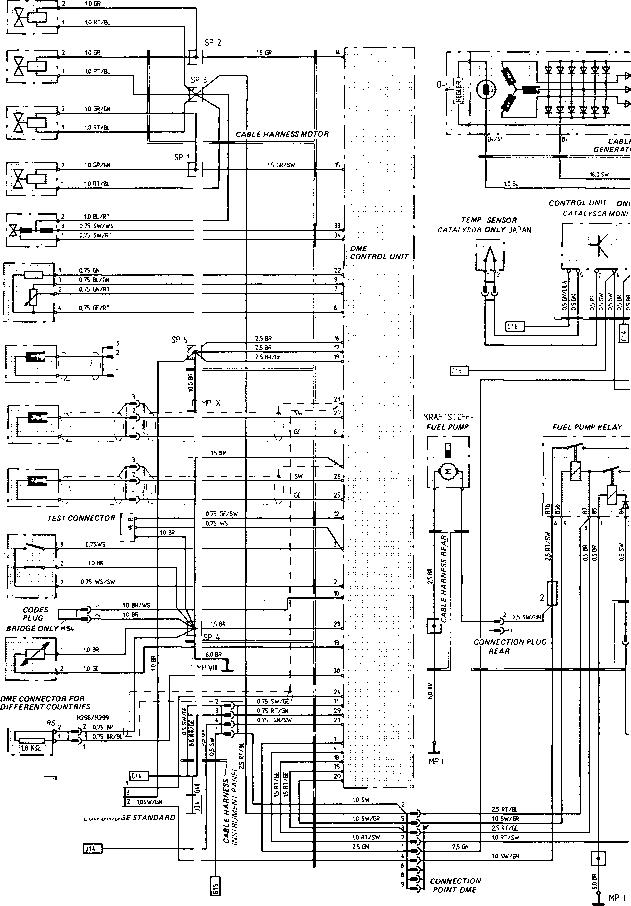 Wiring Diagram Type 924 Model 87 Sheet Porsche 944 Electric Kreativestempelwelt