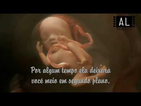 Mensagem Do Bebê Para O Papai Anúncio De Gravidez Youtube