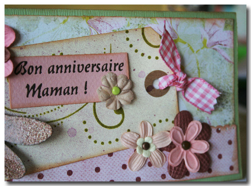 Carte Anniversaire Pour Sa Maman Nanaryuliaortega Blog